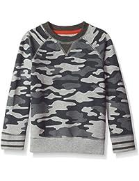 Boys' Long Sleeve Raglan Sweatshirt