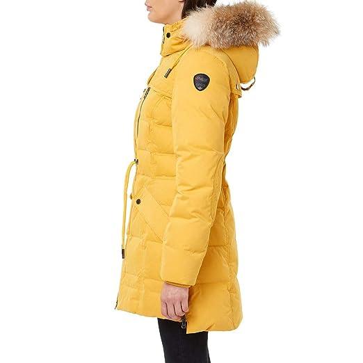 Amazon.com: Pajar - Parka para mujer (color amarillo mostaza ...