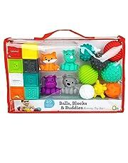 Infantino Sensory Plug en Roll Multiblokken