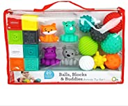 Infantino Balls, Blocks, & Buddies Activity Toy