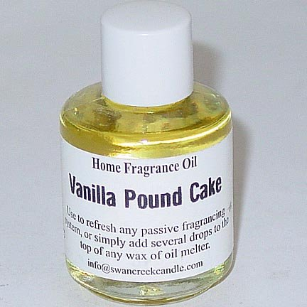 Swan Creek Fragrance Oil 0.5 Oz. - Vanilla Pound Cake