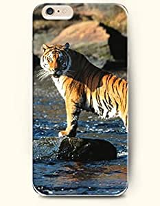 Case Cover For Ipod Touch 5 Tiger Standing in the River
