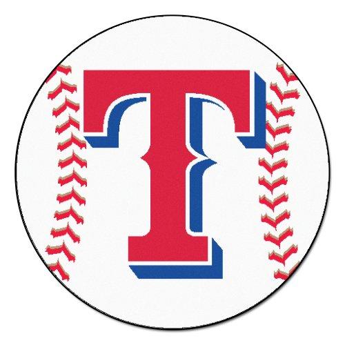 Texas Rangers Baseball Rug - 3