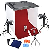 Photo : Emart 16 x 16 Inch Table Top Photo Photography Studio Lighting Light Shooting Tent Box Kit