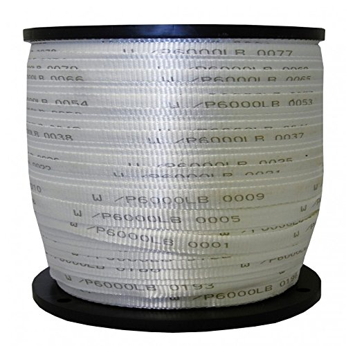 1'' x 1000' 6000 Lb Polyester Pull Tape / Pulling Tape - USA Made (500', 1000', & 2000' Options) by The Ribbon Factory