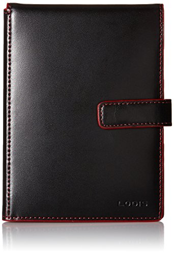 Lodis Audrey Passport Wallet with Ticket Flap,Black,one size
