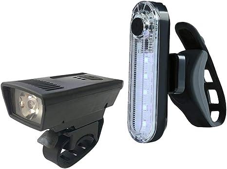 perfeclan Faro de Bicicleta con Aspecto Retro Linterna LED ...