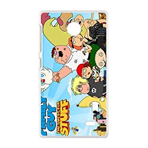 Family guy the quest for stuff Case Cover For Nokia Lumia X