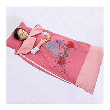 Saco de dormir Xiuyun bebé Primavera y otoño edredón Anti-Patada Infantil edredón Infantil (Color : A, Tamaño : 75 * 120cm): Amazon.es: Hogar