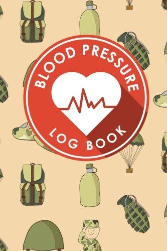 Blood Pressure Log Book  Blood Diary  Blood Pressure Monitoring Sheet  Blood Pressure Log Form  Daily Blood Pressure Chart  Volume 80