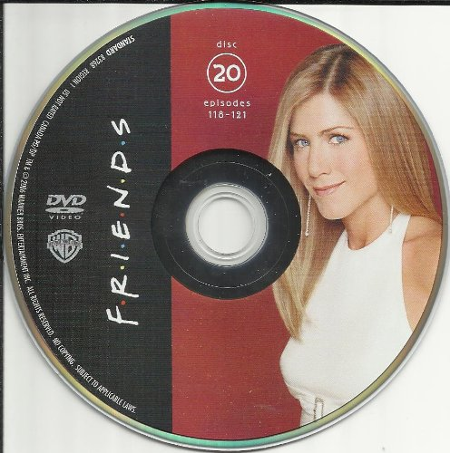 Friends The Complete Series Disc 20 Episodes 118-121 Replacement Disc!