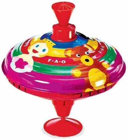 FAO Schwarz Metal Spinning Top Toy by Baby & Child: Amazon.es ...