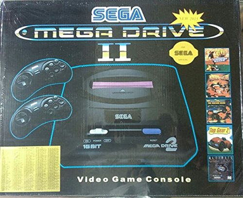 Buy New Sega Mega Drive 2 16 Bit Tv Video Game With 350