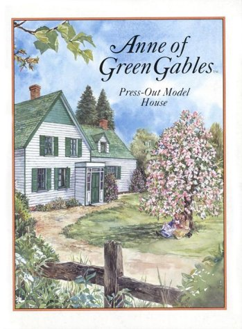Anne Of Green Gables Press-Out Model House (Press Out Activity Book) by Seal Books