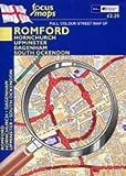 Full Colour Street Map of Romford: Hornchurch - Upminster - Dagenham South Ockendon