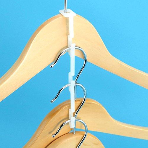 Hangerworld Plastic Multi Hang Clothes Connector