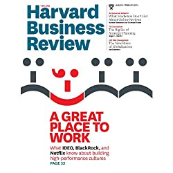 Harvard Business Review, January/February 2014