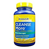 Renew Life Cleansemore Capsules, 100 -Count Bottle Review