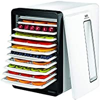 WOODMAYA® Smart Food Dehydrator with 10 Trays - Digital Control, Transparent Window, 550W UL Certificate