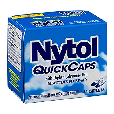 Nytol Nighttime Sleep Aid Quick Capsules