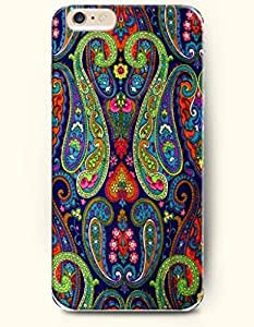 SevenArc Apple iPhone 6 Plus 5.5' 5.5 Inches Case Paisley Pattern ( Bright Color Buteh Tree )
