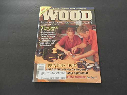 (Better Homes and Gardens Wood Oct 1994 Carved Sea Dragon; Keepsake Box )