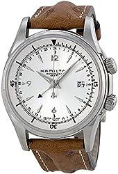 Hamilton Jazzmaster Traveler GMT 2 Automatic Mens Watch H32625555
