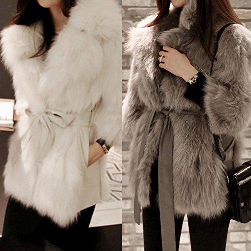 Womens faux fur coats on sale