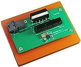 Micro SATA Cables Mini SAS HD SFF-8643 to PCI-e Gen 3 4 Lanes Slot Adapter with Open End Connector