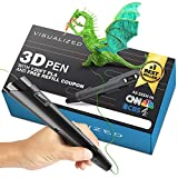 3D Pen for Kids (with 120ft of Printing Filament) - Easy to Use 3D Drawing Pen, 3D Print Pen for Adults with Speed and Temperature Control, for ABS and PLA Filament Pen 3D, Create 3D Art Pen kit