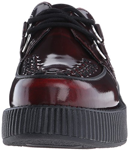 Burgundy Viva Shoes U Rub Off Creeper T Low Women's Red K 4IwqB