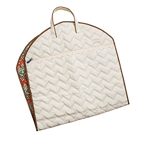 cinda b Slim Garment Bag, Ravinia Ivory, One Size by Cinda b.