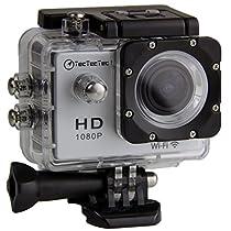 TecTecTec!® WIFI Action Sport Cam Camera Waterproof Full HD 1080p 720p Video Helmetcam