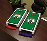 Victory Tailgate Boston Celtics NBA Basketball Desktop Cornhole Game Set Border Version
