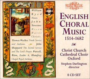 English Choral Music, 1514-1682 by Nimbus Records