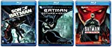 Batman: Under the Red Hood + Son of Batman [Blu-ray] & Batman: Gotham Knight Animated Cartoon 3 DCU Movie Super Hero Collection Set