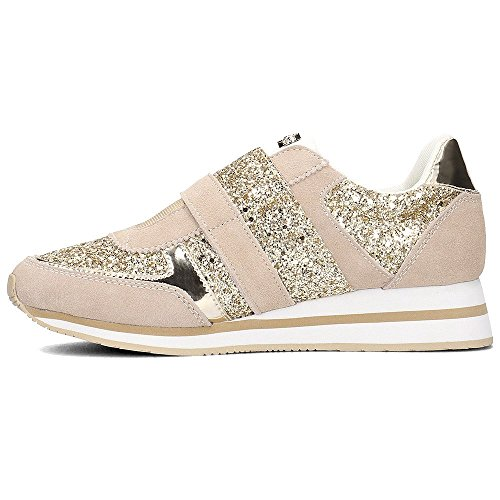 Versace Jeans Linea Fondo Stella Dis4 Suede Glitter E0VRBSA270026723, Deportivas