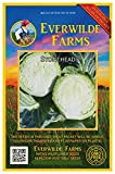 buy Everwilde Farms - 100 Stonehead Hybrid Cabbage Seeds - Gold Vault Jumbo Seed Packet now, new 2019-2018 bestseller, review and Photo, best price $2.98