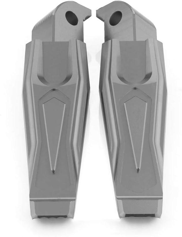XP500 Tmax 530 2013-2015 QIDIAN pour Yamaha All Tmax 500 MT07 MT09 2013-2015 P/édales de pieds pliables CNC pour repose-pieds de passager arri/ère