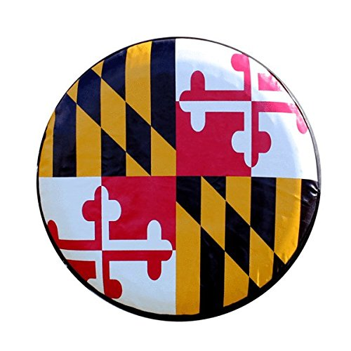 Maryland Flag Tire Cover 5558998103 Route One Apparel