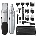 Wahl Groomsman Cord/Cordless Beard, Mustache, Hair & Nose Hair Trimmer for Detailing & Grooming - Model 5623