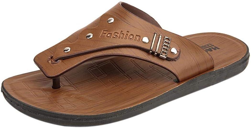 Zipong Mens Slippers Outdoor Sandals Casual Shoes Fashion Beach Shoe