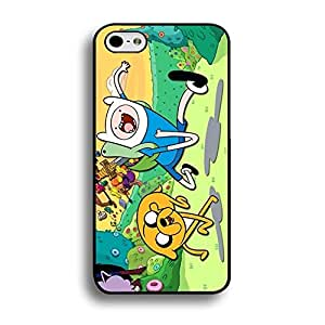 Iphone 6 / 6s ( 4.7 Inch ) Cover,Adventure Time Finn&Jake Phone Case Funny Cute Anime American Comic TV Series Back Case Cover (Adventure Time with Family)