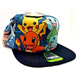 BIO WORLD Pokemon Friends Designed Hiphop Cap -Youth Size