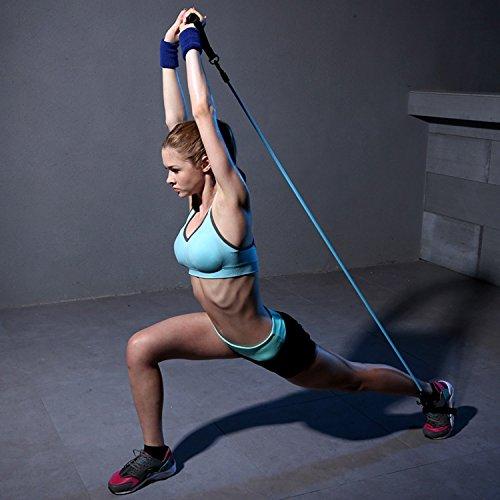 Exercise Bands Sets,Resistance Band Kit,5 Fitness Tubes