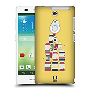 Head Case Designs Medicine Profession Inspired Medical Protective Snap-on Hard Back Case Cover for Fujitsu Arrows NX F-01F LTE
