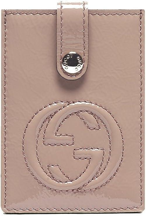 Gucci 338331 Soho Mauve - Funda para tarjetas de visita (piel), color rosa: Amazon.es: Zapatos y complementos