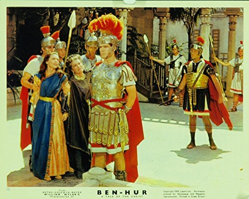 Ben-Hur (1959) Original UK Movie Poster 8x10 Front of House Card STEPHEN BOYD CATHY O'DONNELL Very Fine - Uk Hur