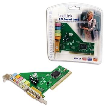 LogiLink PC0027B -Tarjeta de sonido PCI (5.1, VIA chipset)