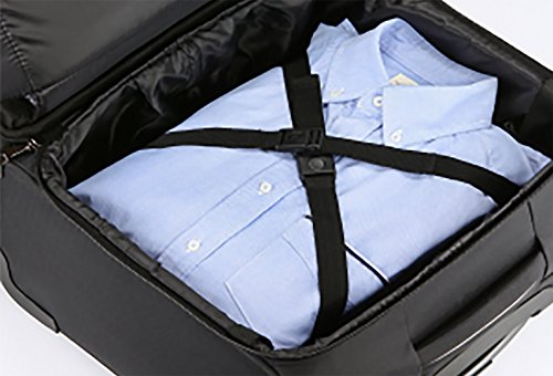City Traveler Durable Nylon Business Suitcase - Carry On with Spinner Wheels (Notebook Briefcase) by City Traveler (Image #2)